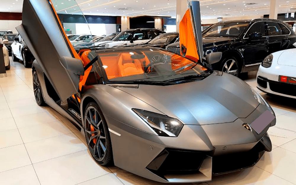 Lamborghini AVENTADOR LP 700 ROADSTER HERMES EDITION